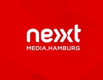 NEXT MEDIA.HAMBURG // Corporate Design // Website