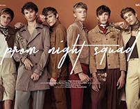 """Prom night squad"" editorial for iMute magazine"