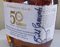 Rare Makers Mark 50th Anniversary Bottle