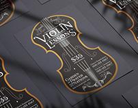 Violin Flyer