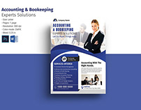 Accounting & Bookkeeping Flyer
