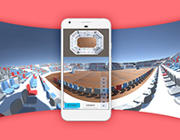 Ticket360 · 360 degree photos for Ticket sales