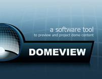 UI design // DomeView