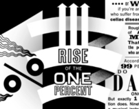"THE NEW YORK TIMES: Op-Art ""Rise of the 1%"""