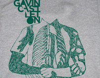 Gavin Castleton 2009 Tour T-Shirt
