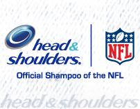 Head & Shoulders NFL Takeover Ad