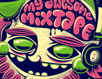 "T-Shirtdesign for ""My awesome Mixtape"""