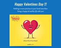 Happy Valentines Day Infographics