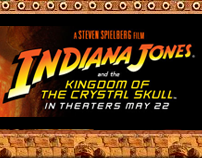Indiana Jones Movie Promo Mobile Site
