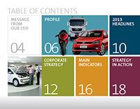 Relatório anual Banco Volkswagen