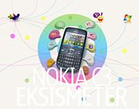 Nokia C3 Eksismeter
