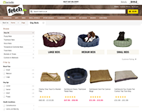 Fetch.co.uk - The Pet Store from Ocado