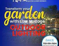 Low Voltage Landscape Lighting for Ponds in Edison NJ
