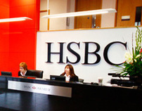 HSBC Internal Signage for Durrell Sponsorship