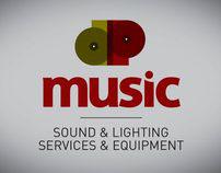 dp music logo