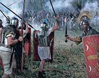 The Romans. Editorial Illustration - photo manipulation