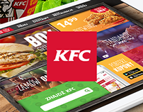 KFC - Website redesign