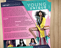 Dominique Young Unique - One Sheet