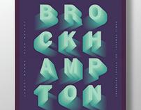 Brockhampton - Poster