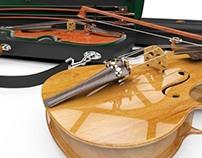 Carbon Fibre Violin Case Concept