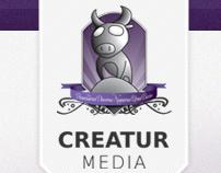 Creatur Media New Website