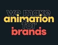 Website Header Animation