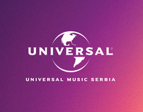 MDNA for Universal Music Serbia