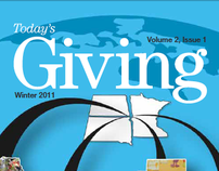 Today's Giving - Editorial Design & Creative Director