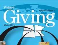 Today's Giving - Editorial Design & Creative Director