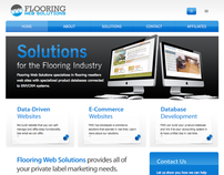 Flooring Web Solutions Branding Project