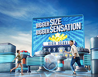 Bigger Size Bigger Sensation