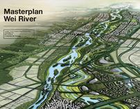 Masterplan Wei River, Xi'an and Xianyang, China, 2011
