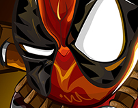 DEADPOOL (vectores)