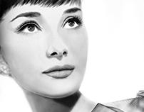 Audrey - digital painting