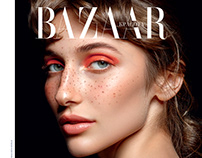 Harper`s Bazaar Ukraine beauty September issue `19