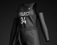 P34 Basketball Mockup - Lauren