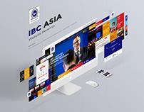 IBC Asia Website Redesign/ Revamp - UX/UI