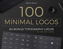 100 Minimal Logos