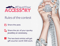 #FlauntYourAccessory Contest Post American Swan
