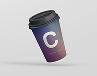 Coffee Cup Mockup Small Size