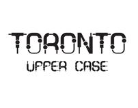 Toronto Uppercase TypeFaces By Moshik Nadav