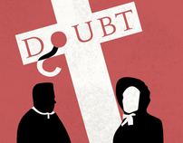 Doubt Minimal Movie Poster