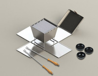 Portable Hibachi Grill