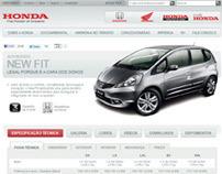 Honda - Site Institucional 2012