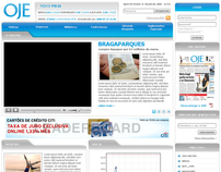 Oje economic newspaper website (proposal)