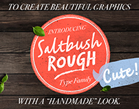 Satbush Rough (Typefamily)