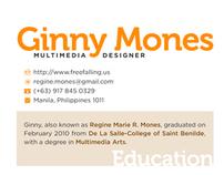 (BRANDING) 2010 Creative Resume