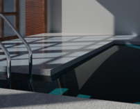 Swimming Pool Render (3D)