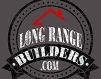 Long Range Builders Logo and T-Shirt Design