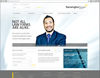 Kensington Swan's Website Design Collaboration